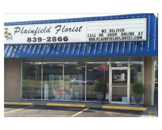 Plainfield Florist Storefront