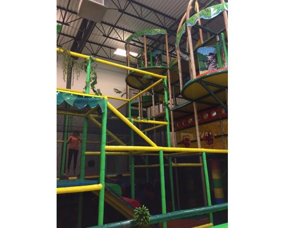 Kid's Planet play structure