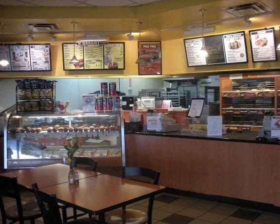 Big Apple Bagels in Avon Indiana Interior
