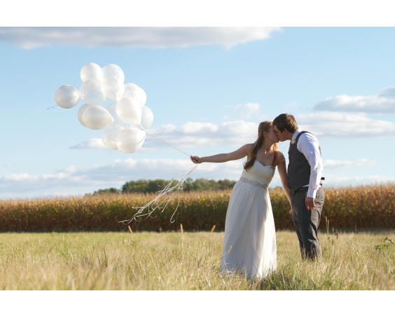 Lizton Lodge - Wedding Photos in the Country