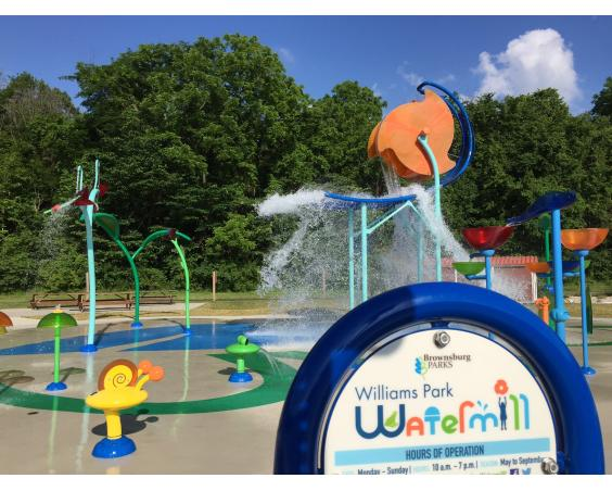 Splash Pad, Williams Park