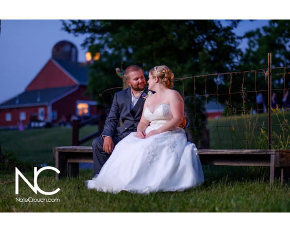 Barn Wedding Photo by Nate Crouch