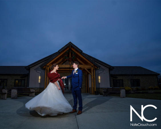 Outdoor Wedding Photo by Nate Crouch Photography