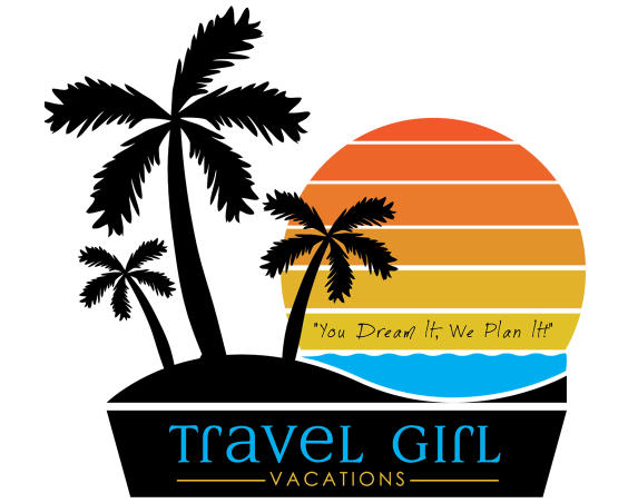 Travel Girl Vacations Logo