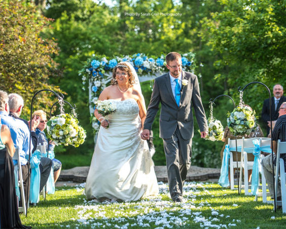 Photography by Sarah Crail - Outdoor Wedding Ceremony