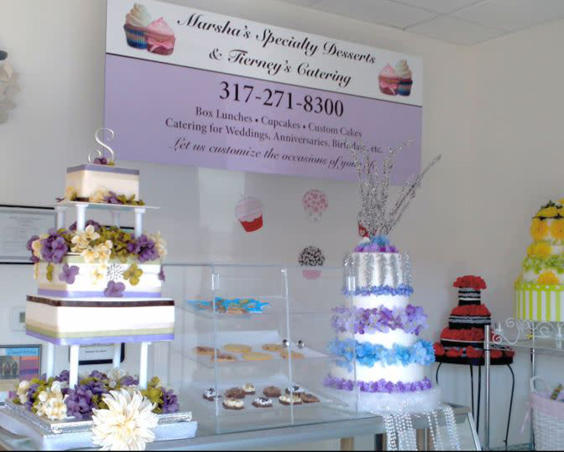 Marsha's Specialty Desserts & Tierney's Catering - Inside Shop