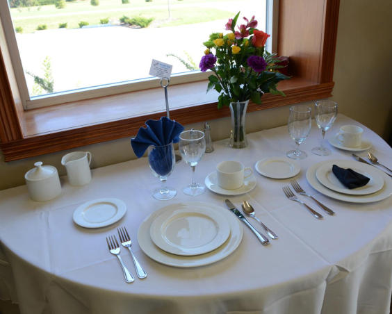 Hoosier Tent & Party Rentals - Place Settings