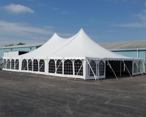 Hoosier Tent & Party Rentals - Tents with Window Sidewalls