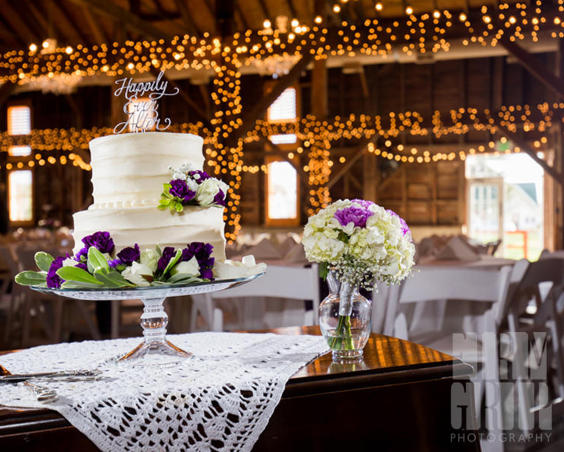 Avon Wedding Barn - Cake