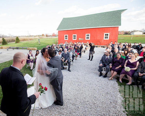 Avon Wedding Barn - Outdoor Wedding