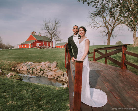 Avon Wedding Barn - Outdoor Wedding Photos