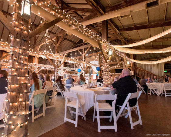Avon Wedding Barn - Indoor Reception