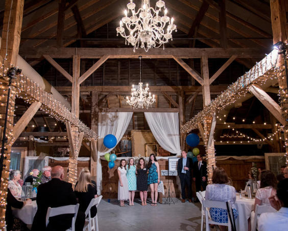 Avon Wedding Barn - Party Event
