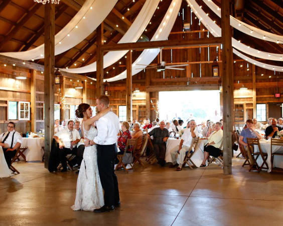 Barn at Kennedy Farm - Indoor Wedding