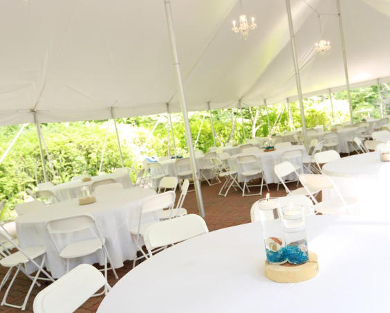 Barn at Kennedy Farm - Outdoor Wedding Set Up