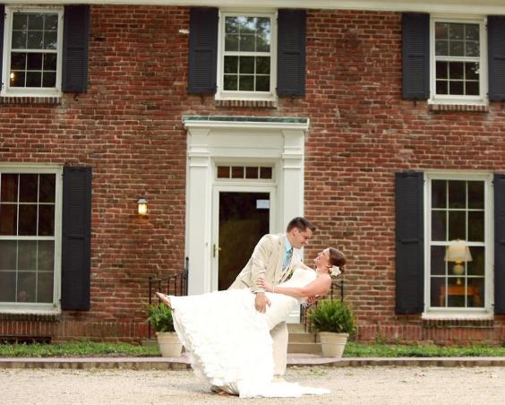 Blanton House - Outdoor Wedding Photos
