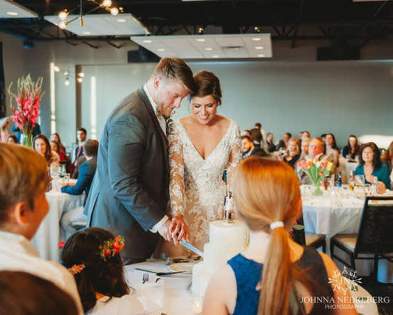 CRG Event Center -  Indoor Wedding Reception by Johnna Nedreberg