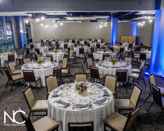 CRG Event Center -  Wedding Reception Setup by Nate Crouch