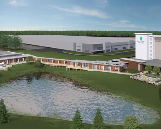 Embassy Suites Hotel and Conference Center Rendering