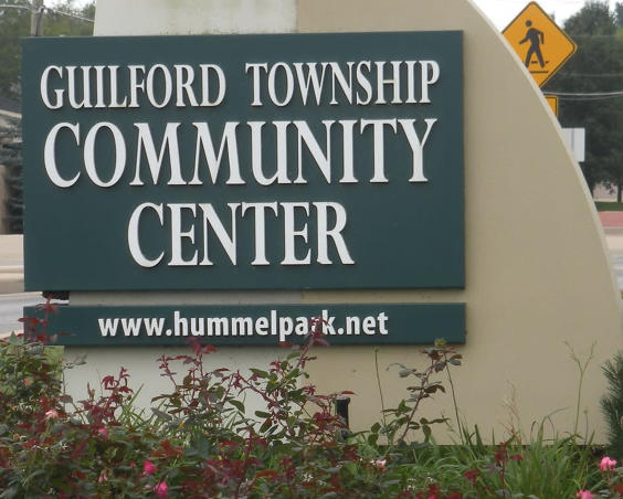 Guilford Township Community Center - Sign