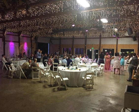 Martha's Orcahrd - Indoor Wedding Reception