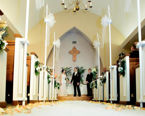 Morning Star Wedding Chapel - Indoor Ceremony by Capturing You