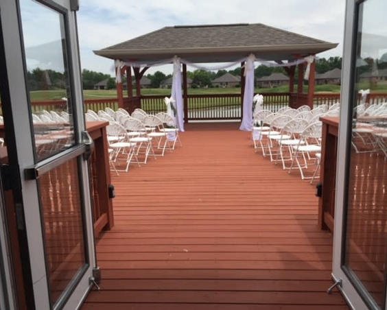 West Chase Golf Club - Outdoor Wedding Ceremony