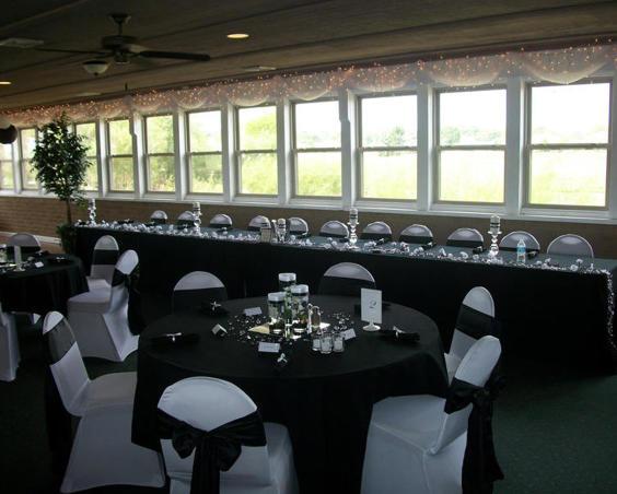 West Chase Golf Club - Indoor Wedding Reception Setup