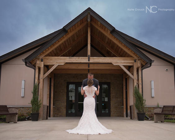 Wedding Photos at Washington Township Park Pavilion Center by Nate Crouch