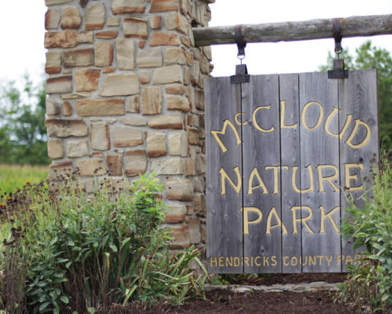 McCloud Nature Park - Sign