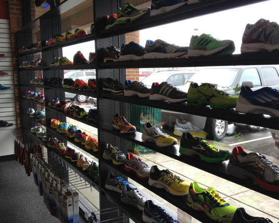 Runner's Forum - Shoe Display