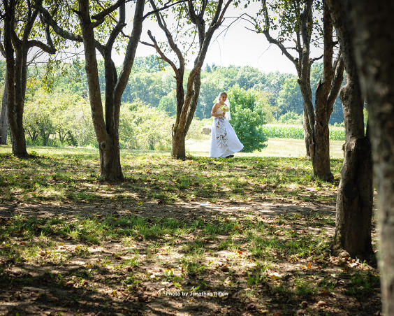 Outdoor Wedding Venue at Martha's Orchard