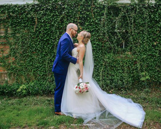 Blanton House - Danville Indiana - Outdoor Wedding Photos