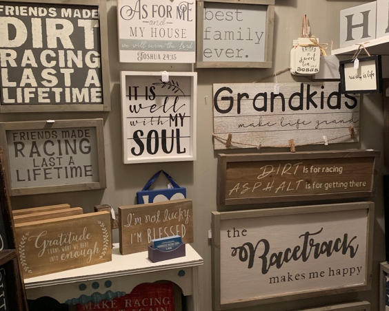 Seek & Find Furniture and Decor - Wooden Signs