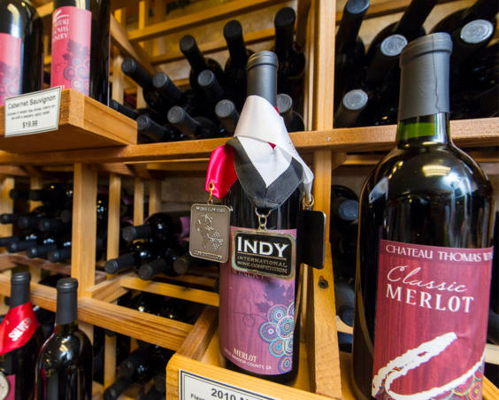 Chateau Thomas Winery - Award Winning Wine