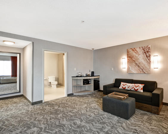 SpringHill Suites - living room