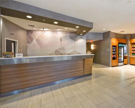 SpringHill Suites - Reception Desk
