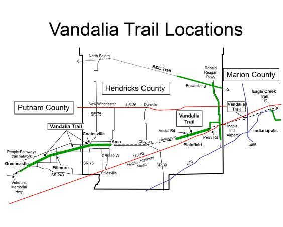 Vandalia Trail Map
