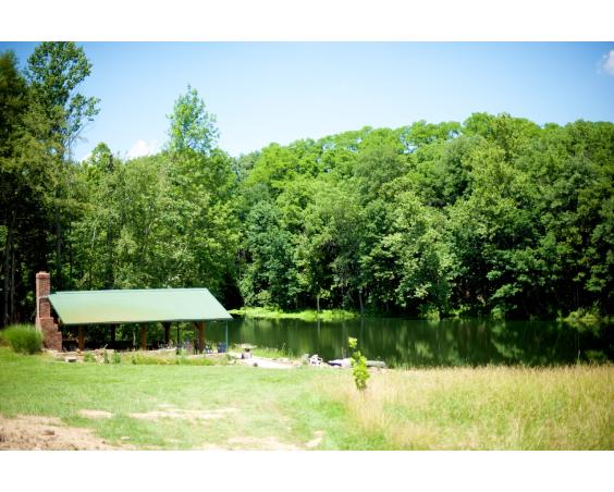 The Cabin at Natural Valley Ranch Pond