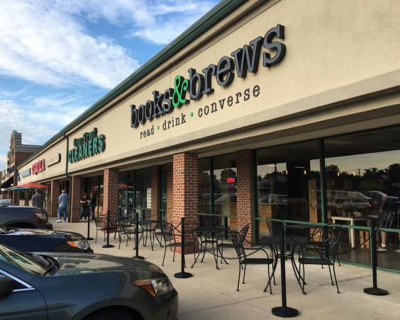 Books and Brews Brownsburg, Indiana - Exterior