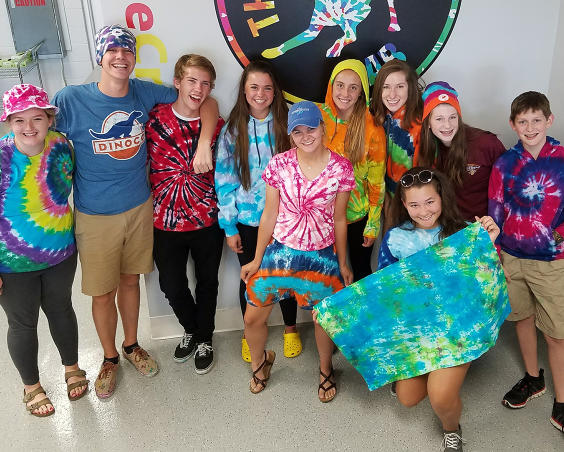 The Tie Dye Lab - Group Examples