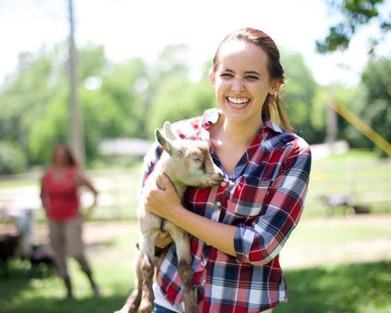 Natural Valley Ranch - Farm Animal Petting Zoo