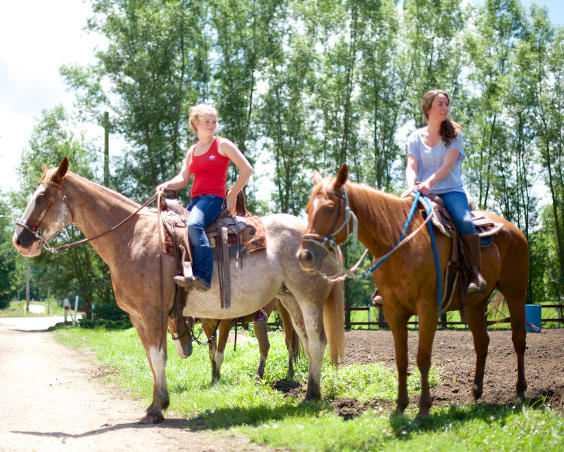 Natural Valley Ranch - Horseback Trail Riding