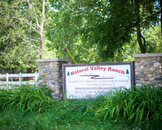 Natural Valley Ranch - Sign