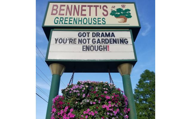 Bennett's Greenhouse