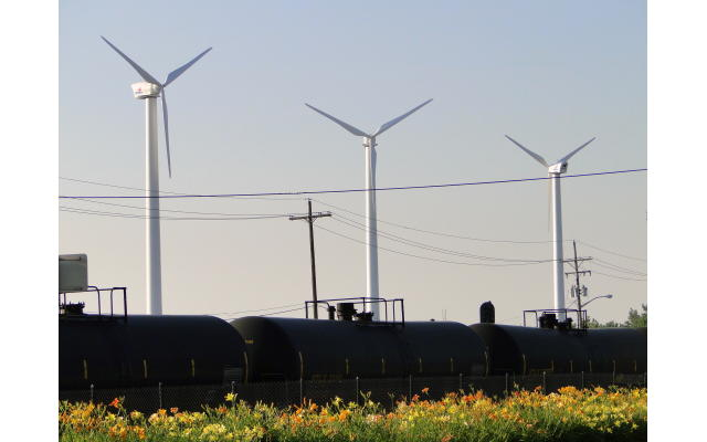 City Bus Wind Turbines