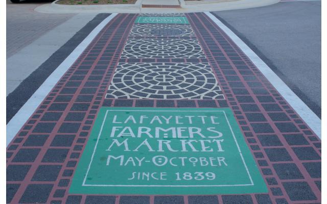 Farmers Market Crosswalk