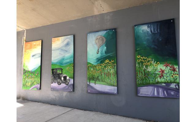 Ferry Street Mural