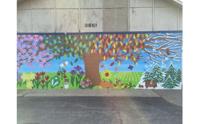 Four Seasons Mural