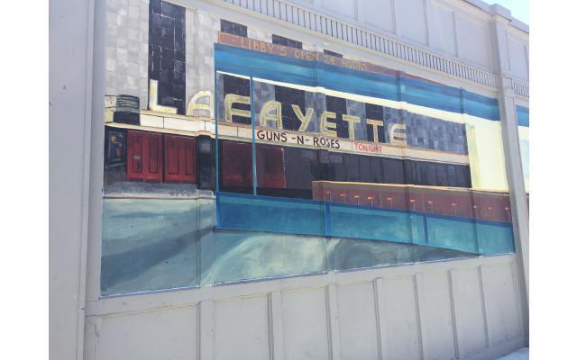 Bobby T's Diner Mural